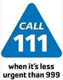 Out of Hours - Contact 111 NHS Direct